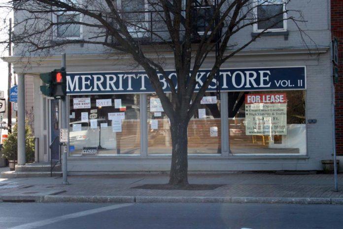 Merritt Bookstore Closes its Doors