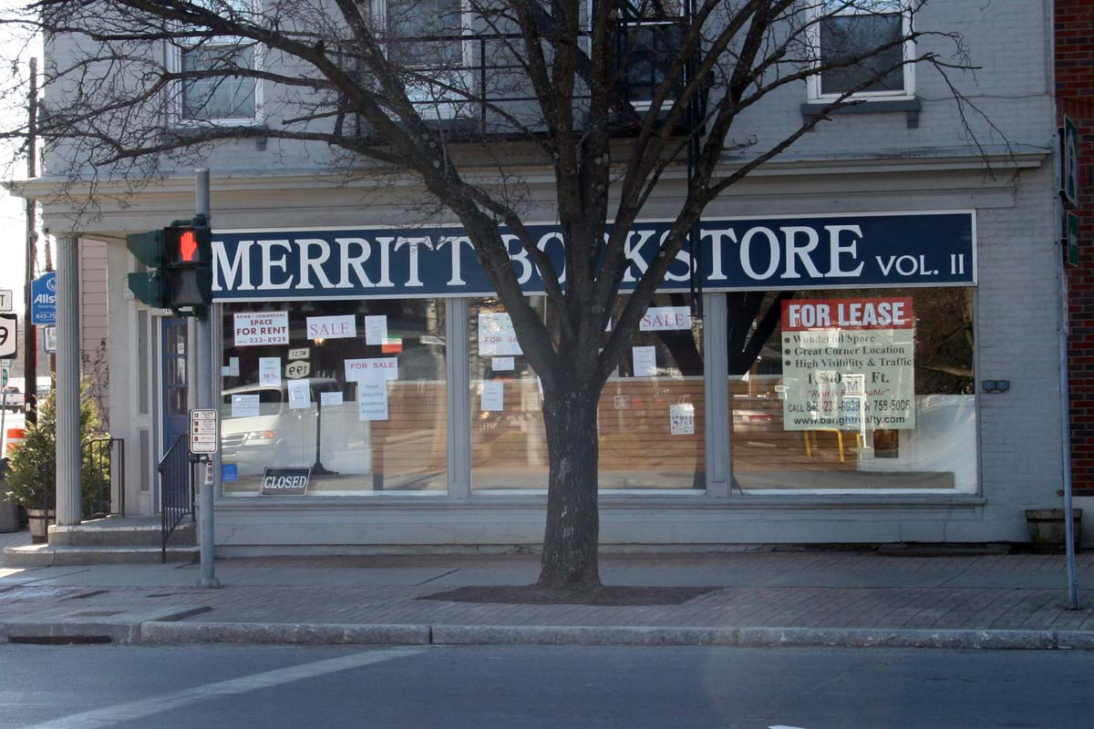 Merritt Bookstore Closes its Doors