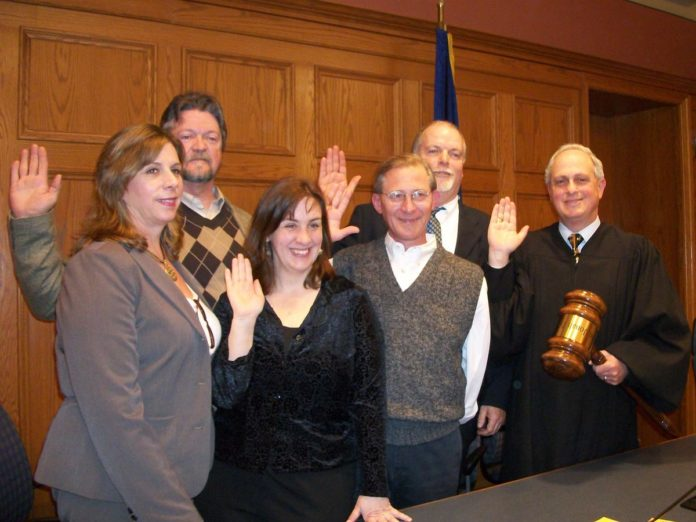 Village Officials Sworn into office in 2011