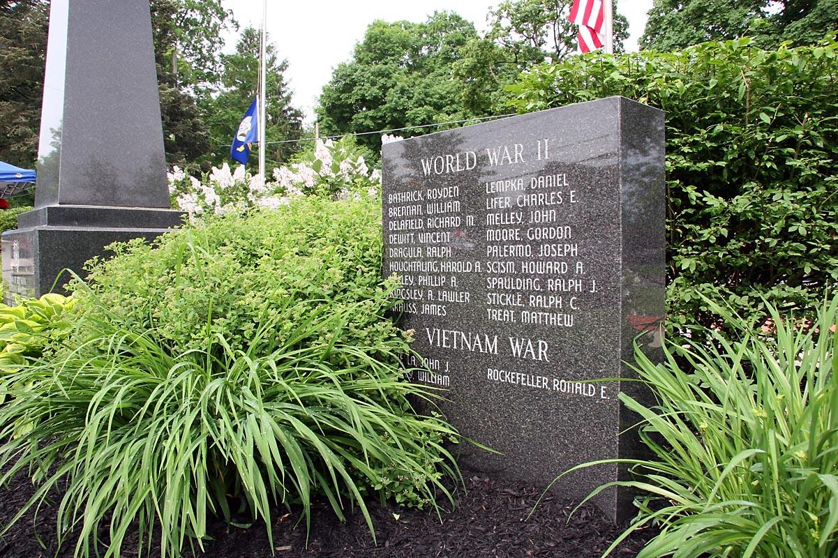 WW2 Memorial in Memorial Park