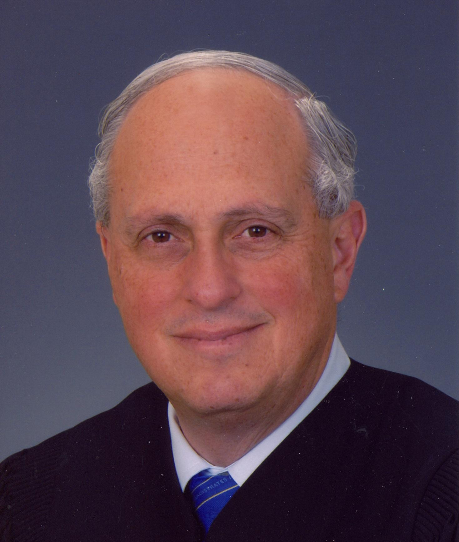 Judge Triebwasser in Robes