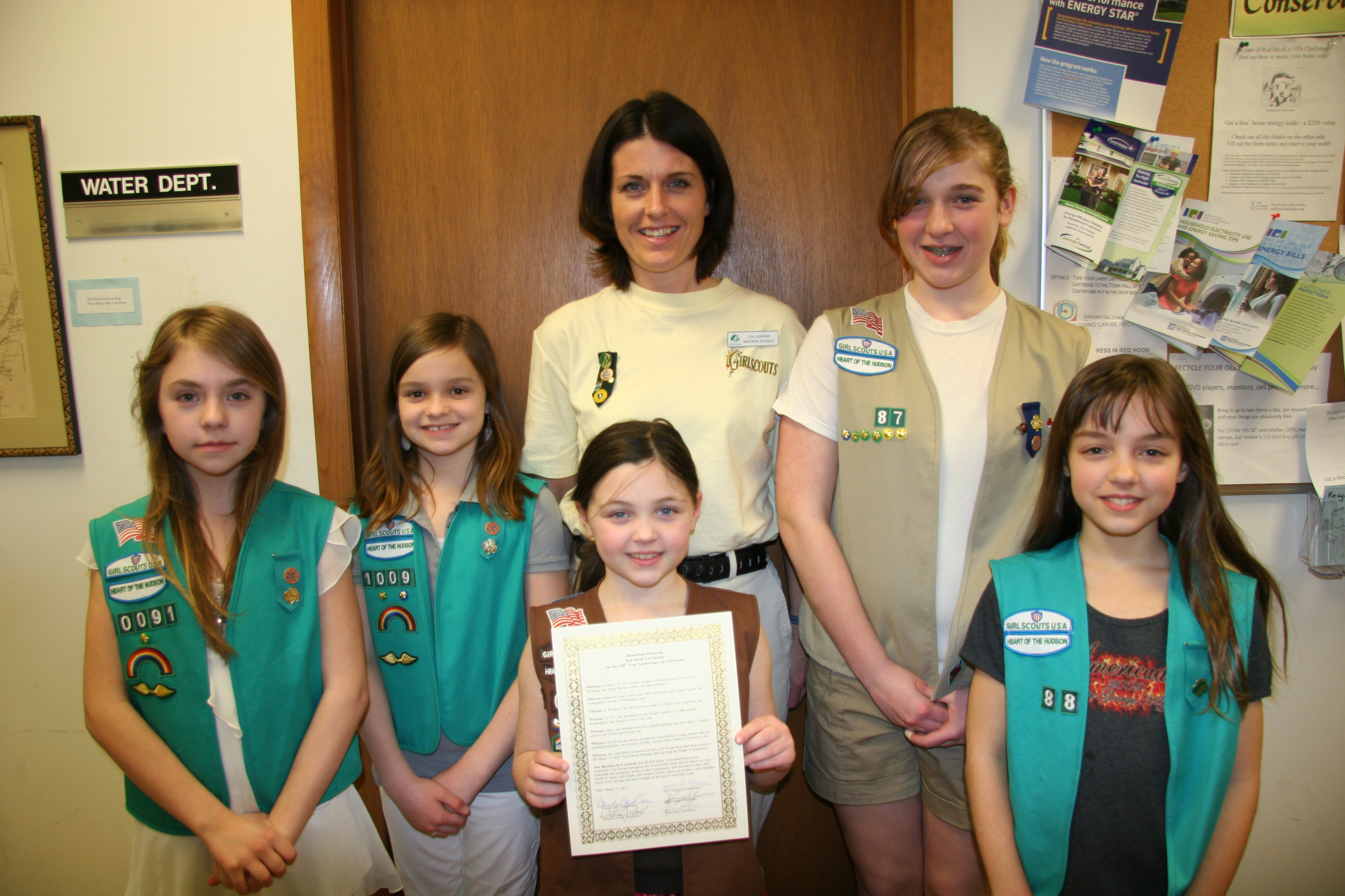 Girls Scouts honored for 100 years