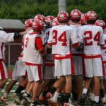 The Raiders celebrate their victory over Roundout Valley on Friday, May 25, 2012.