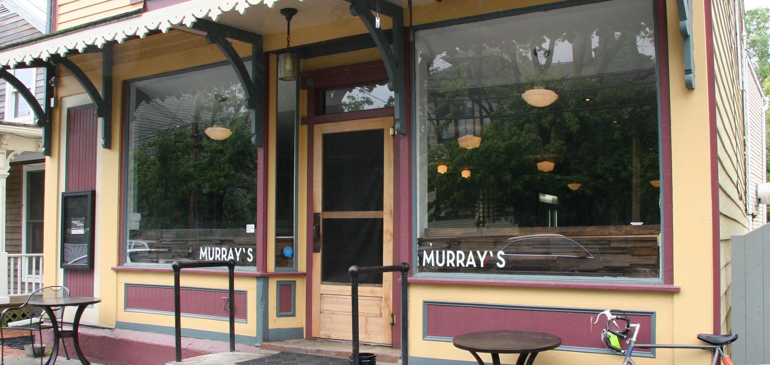 Murray's front