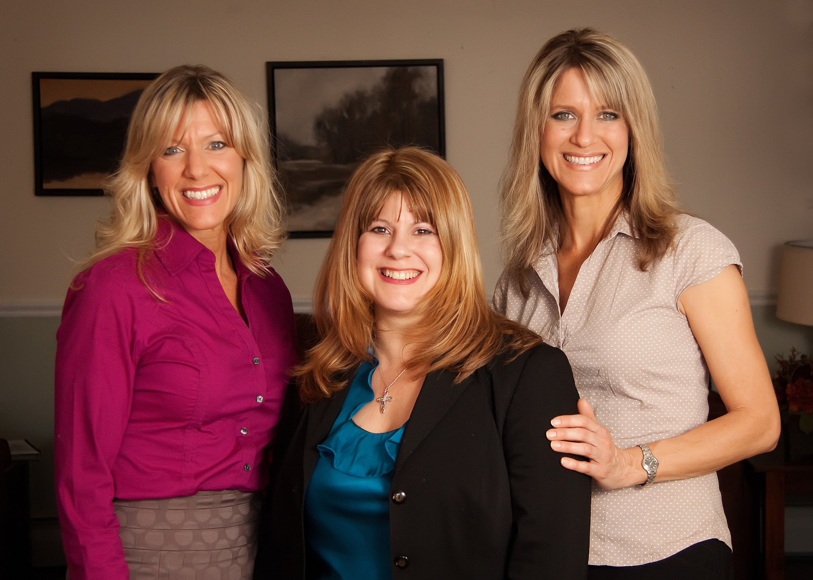The Mondello Realty Family Team: Margaret, Catherine and Therese Mondello (left to right)