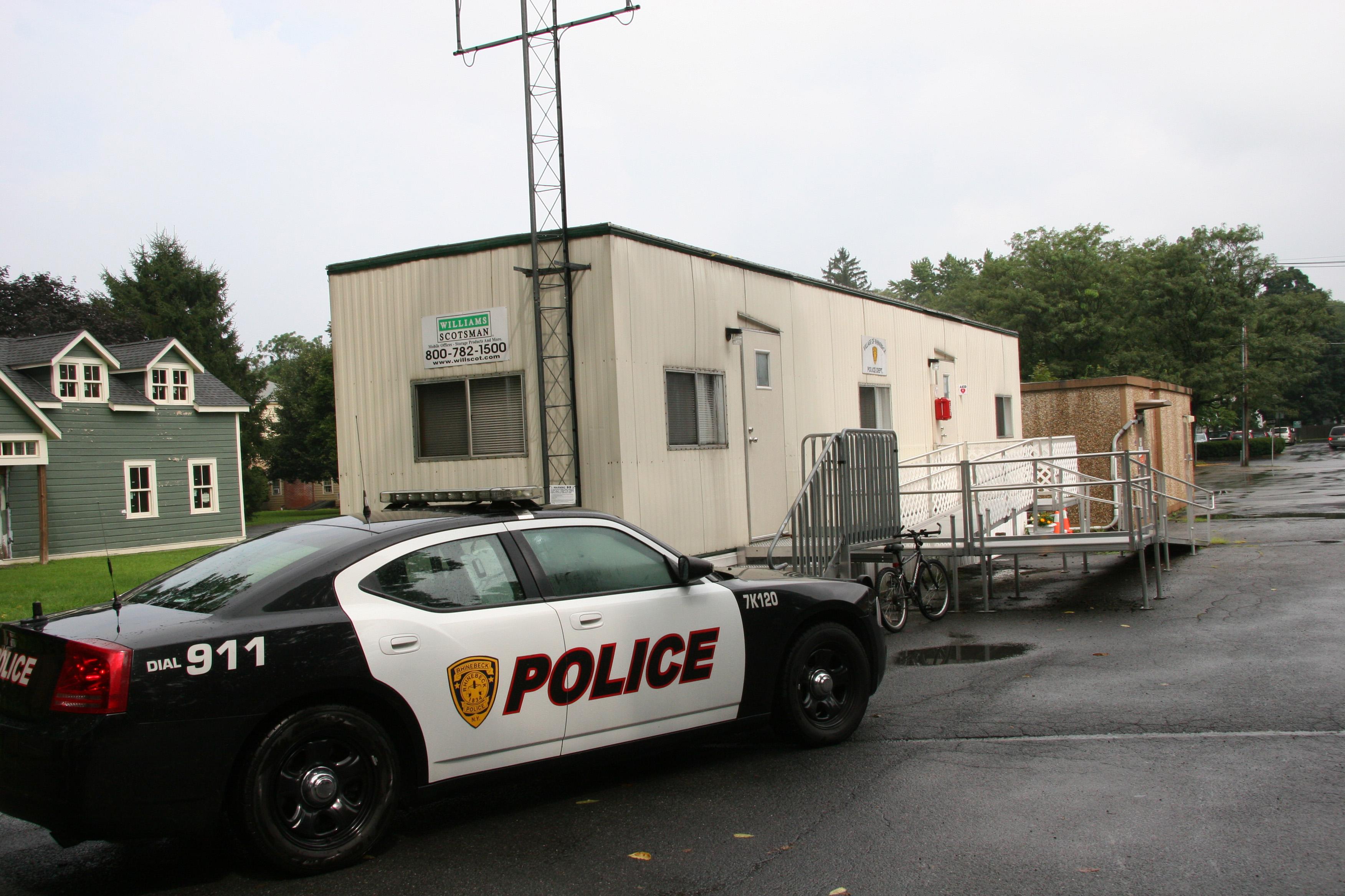 Rhinebeck Police Trailer