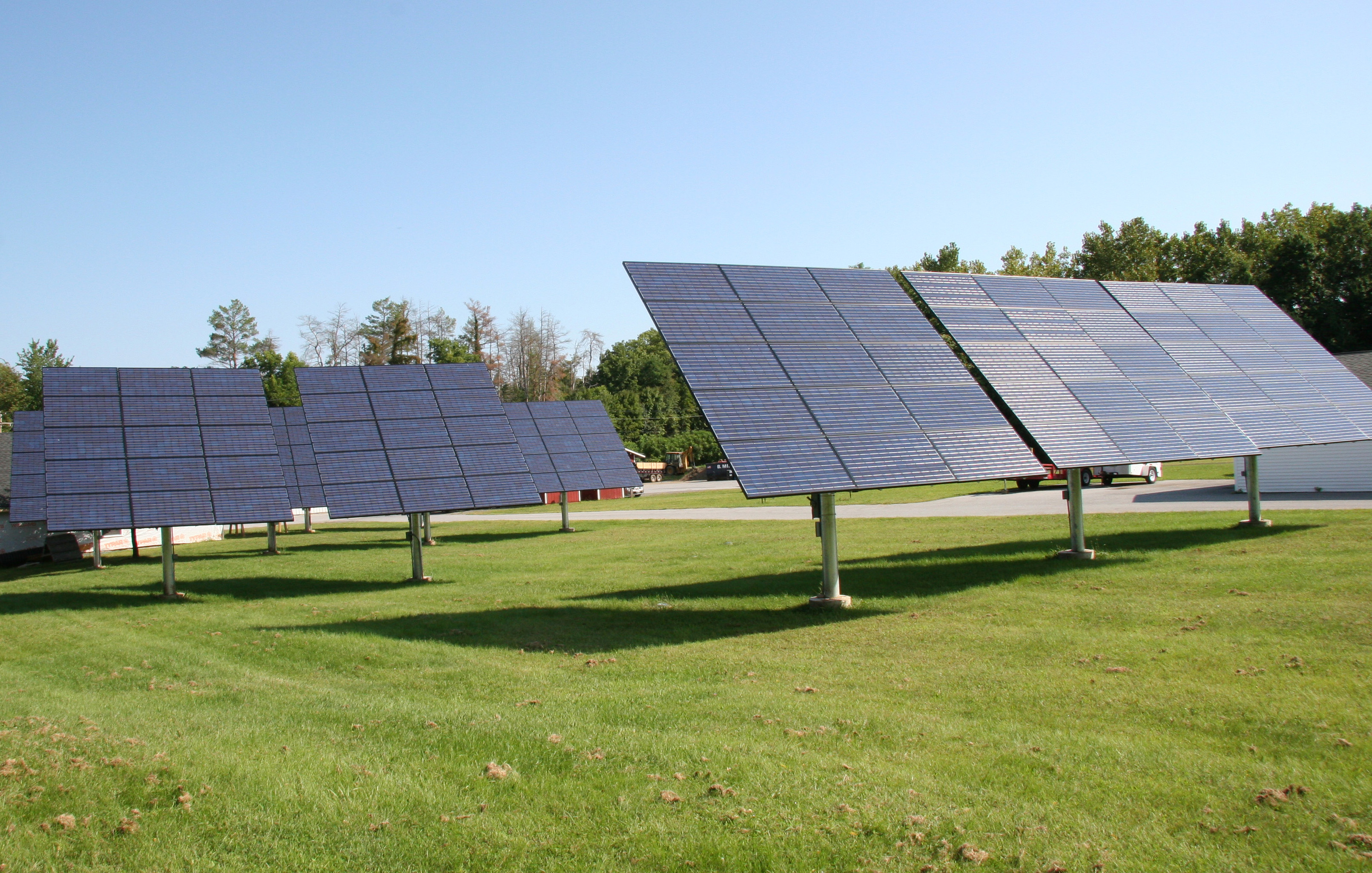Panels similar to those to be installed on Bard Campus.