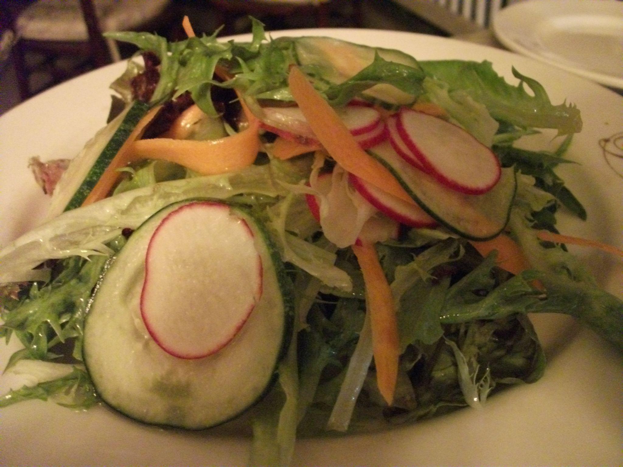 Rhinecliff - Mixed green salad