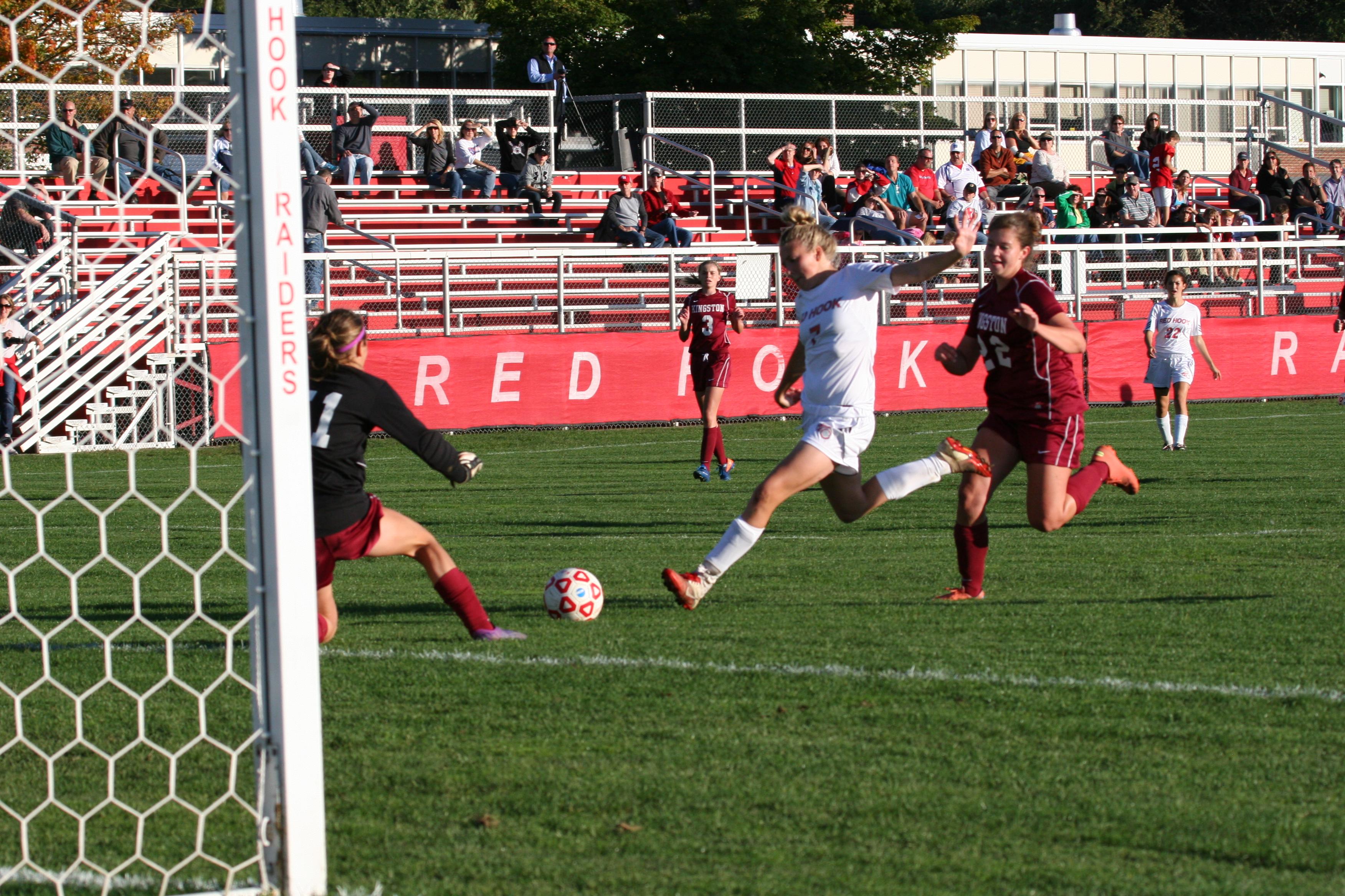 Red Hook Girls Soccer vs Kingston