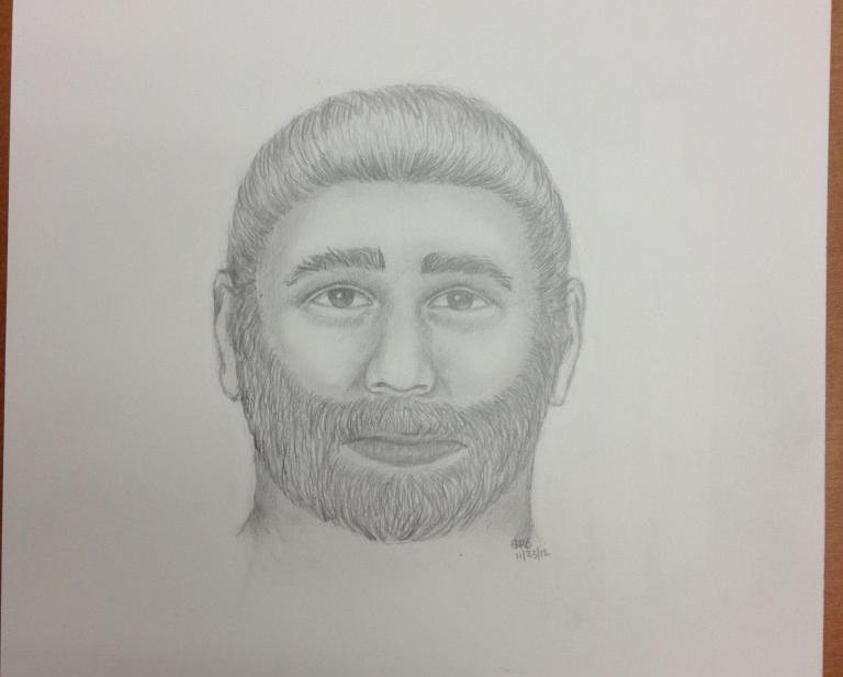 Sketch released by police