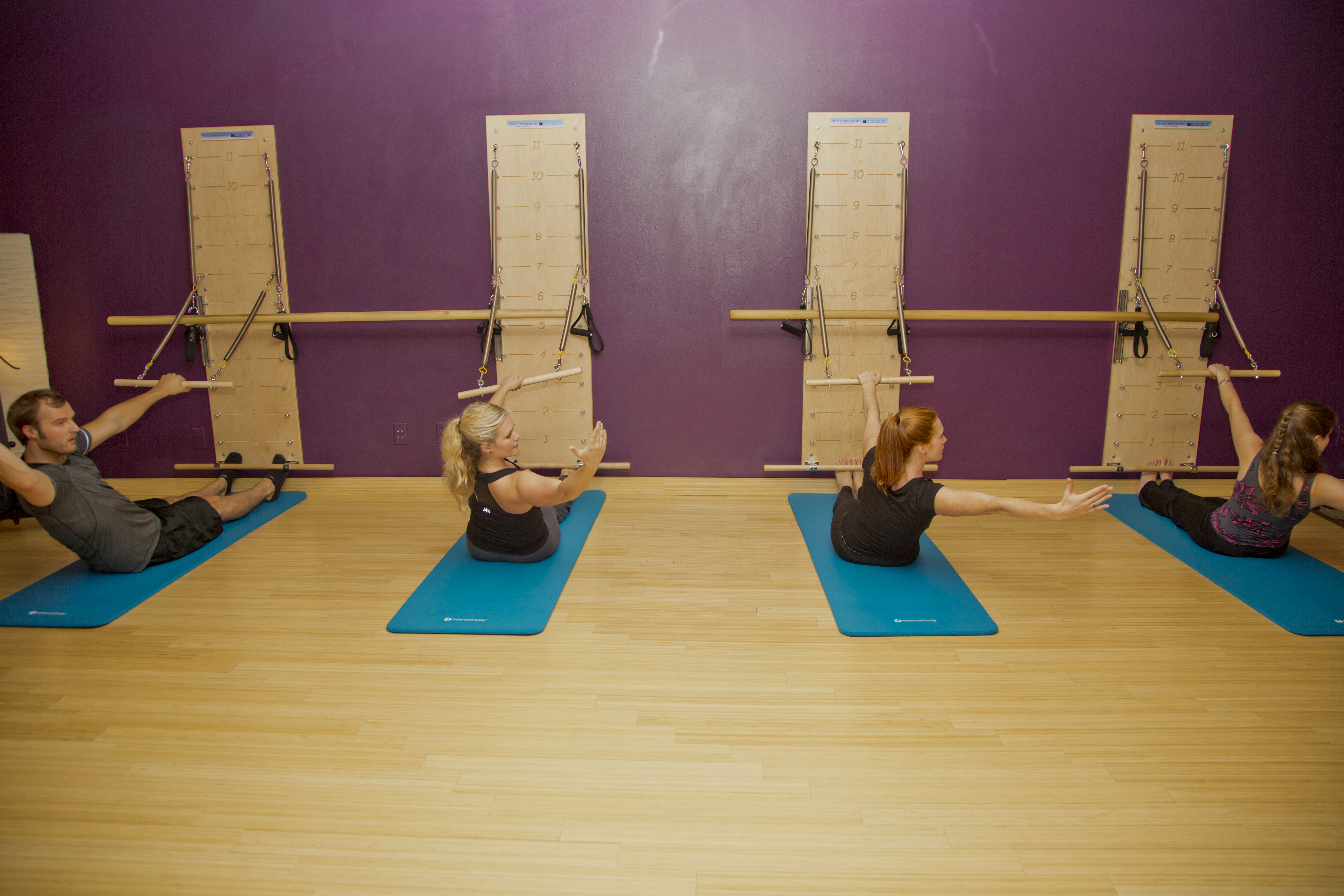 Pilates - springboards