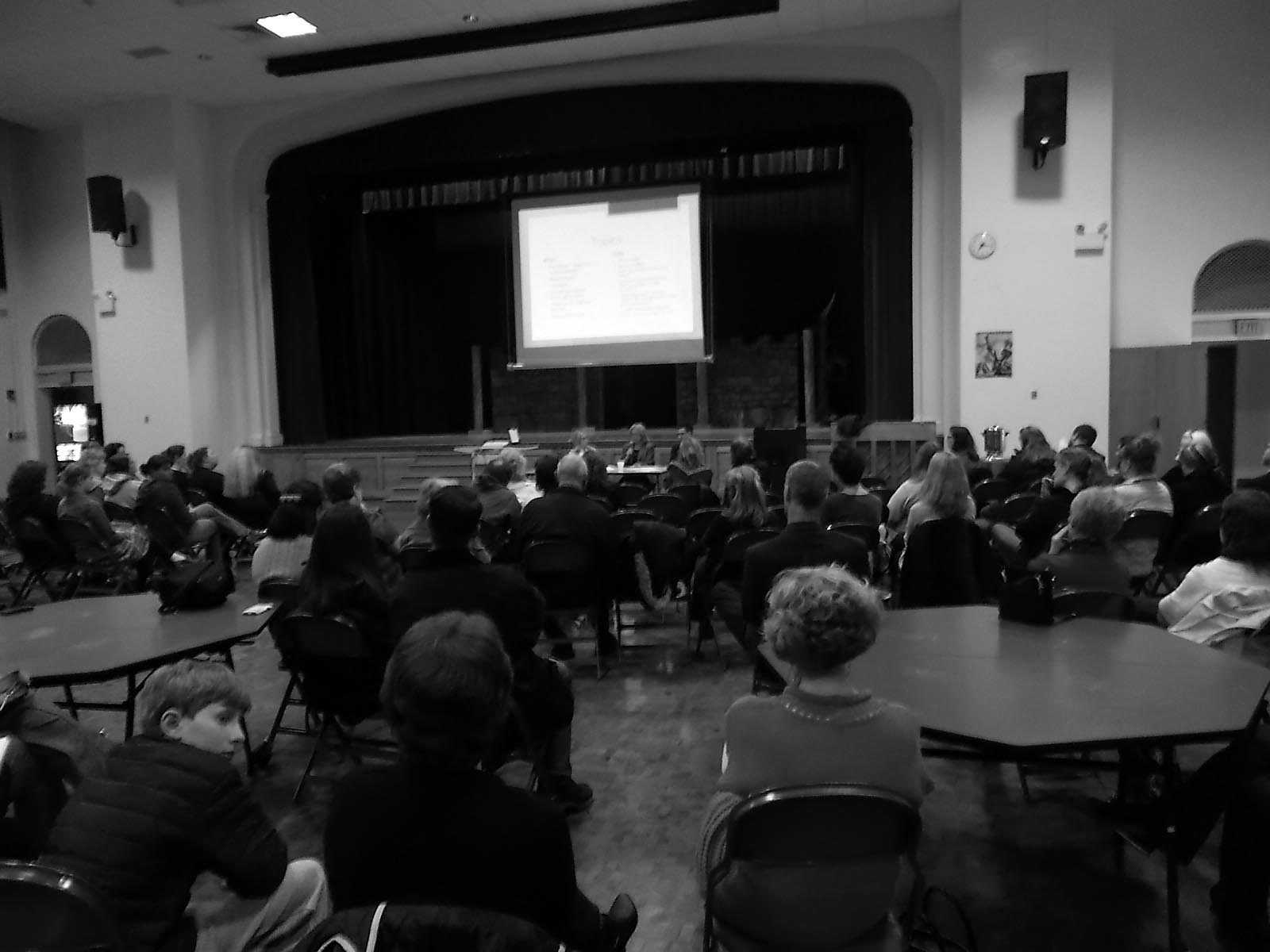 Red Hook parents met with school officials to discuss recent workshops surrounded by controversy.