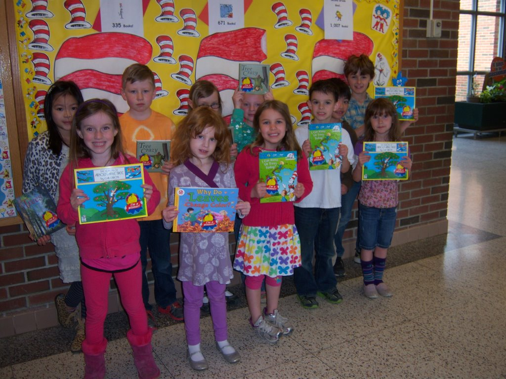 Red Hook Mill Road Elementary K- 2 Arbor Day Poster winners.