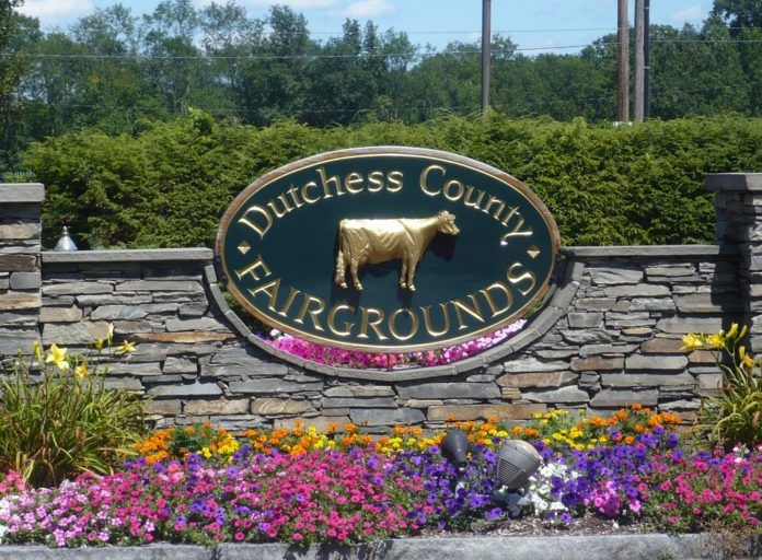 Entrance to the Dutchess County Fairgrounds.