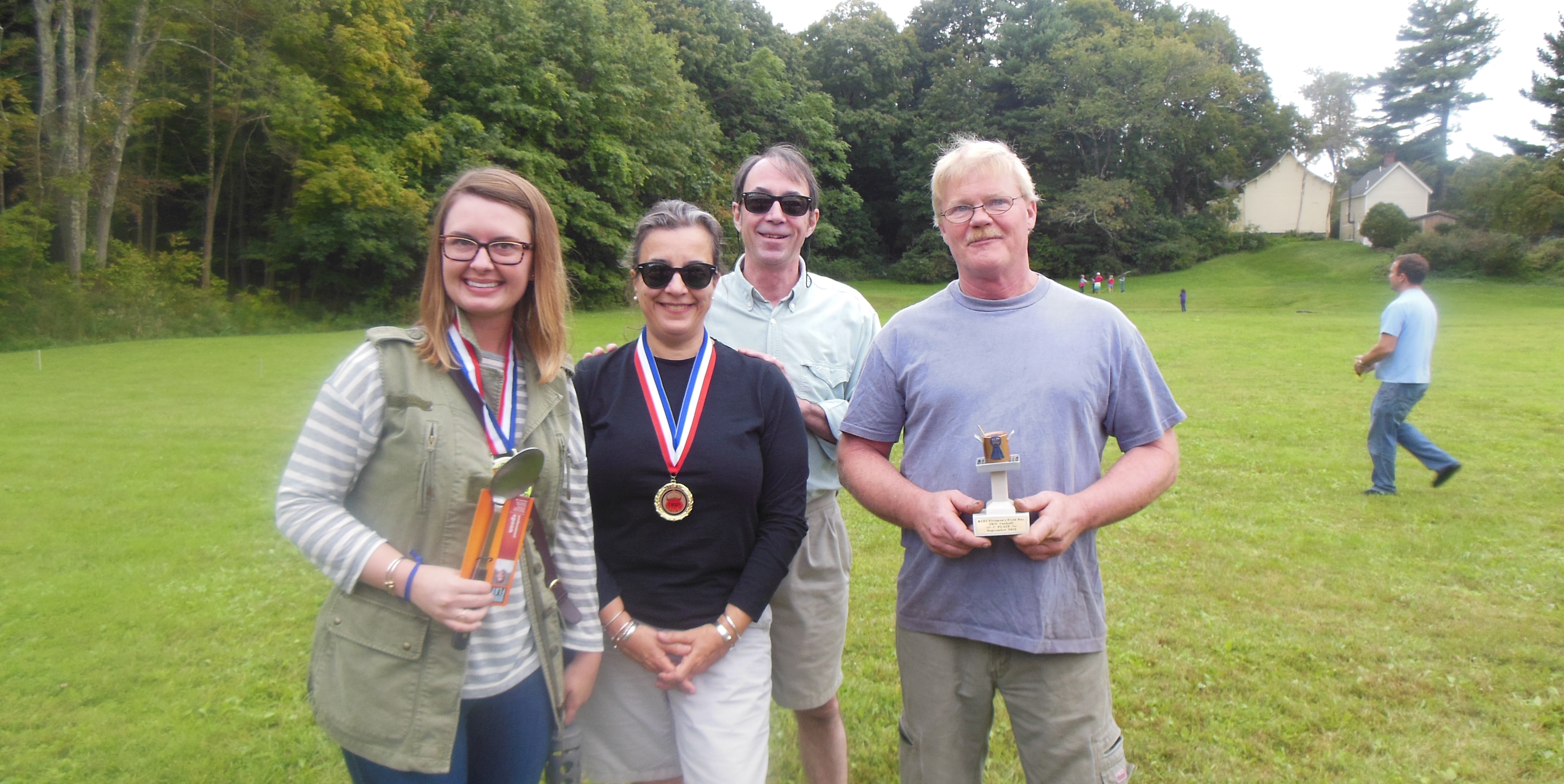 The Winners: Allyson Traver, Chris and Sharla Mullany , and Paul Butler.