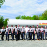 VAlley Energy staff pose in front of one of their trucks.  Courtesy photo.