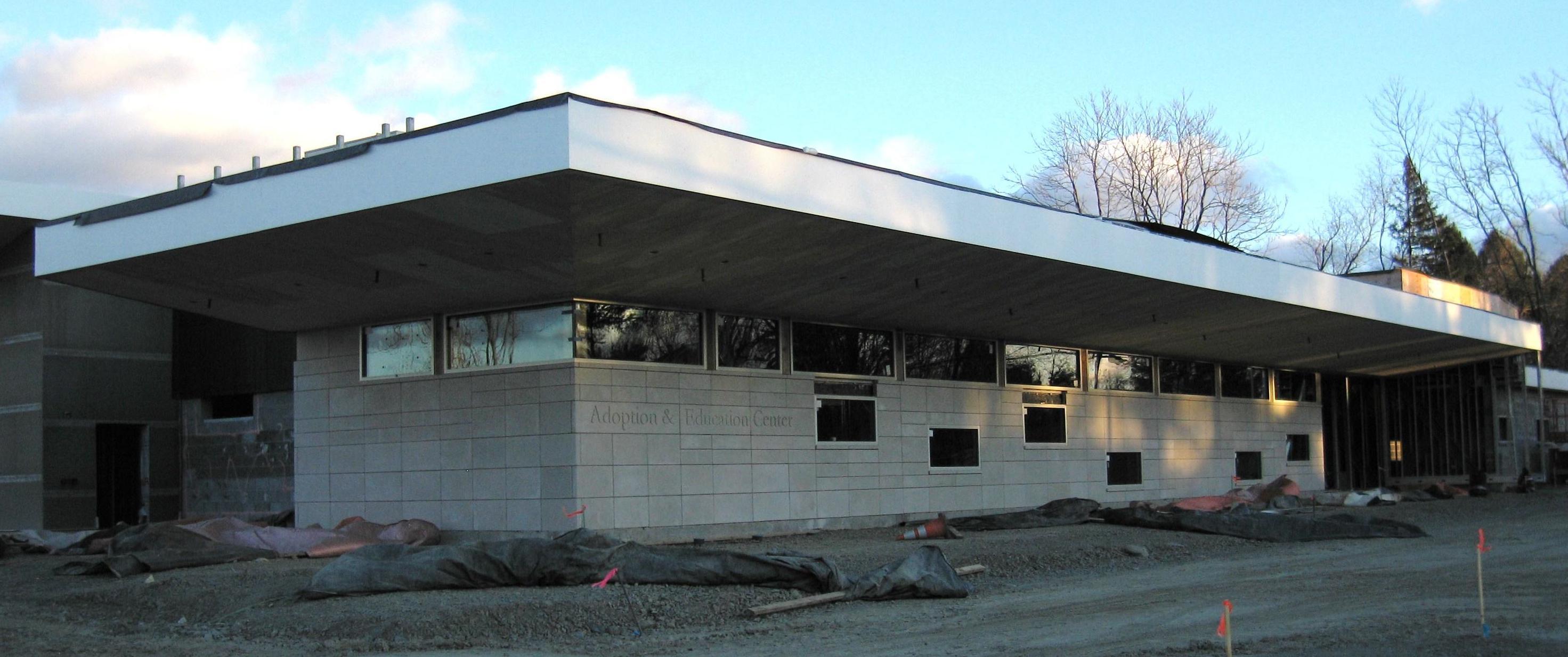 DCSPCA new building