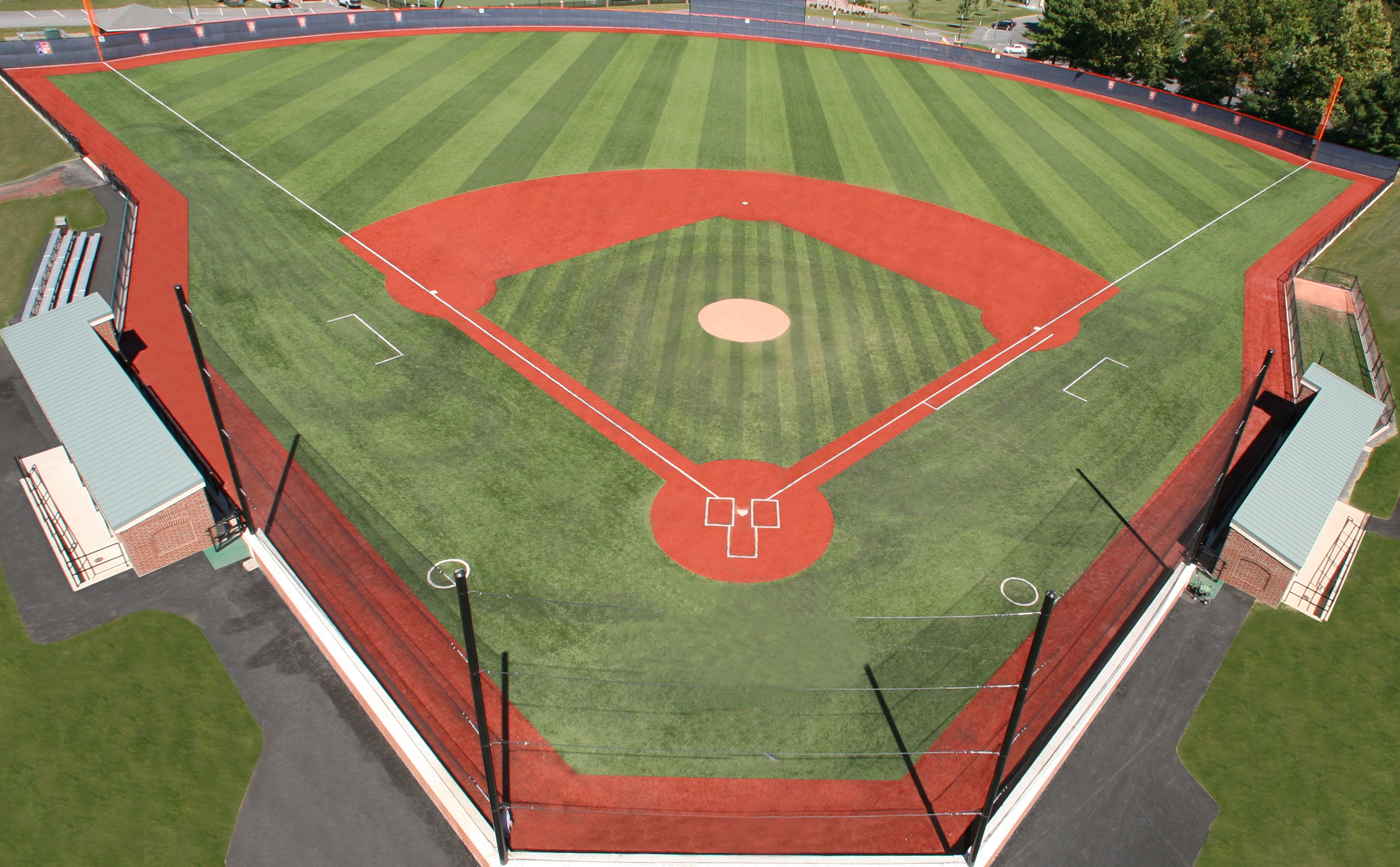The new Bard stadium will be similar to the field constructed at Bucknell University, shown here. Courtesy photo.