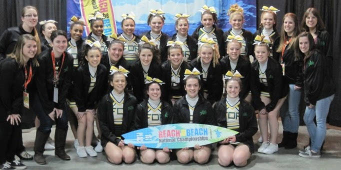 THREE CHEERS FOR THIS TEAM: FDR High's winningest cheerleaders. Courtesy Photo