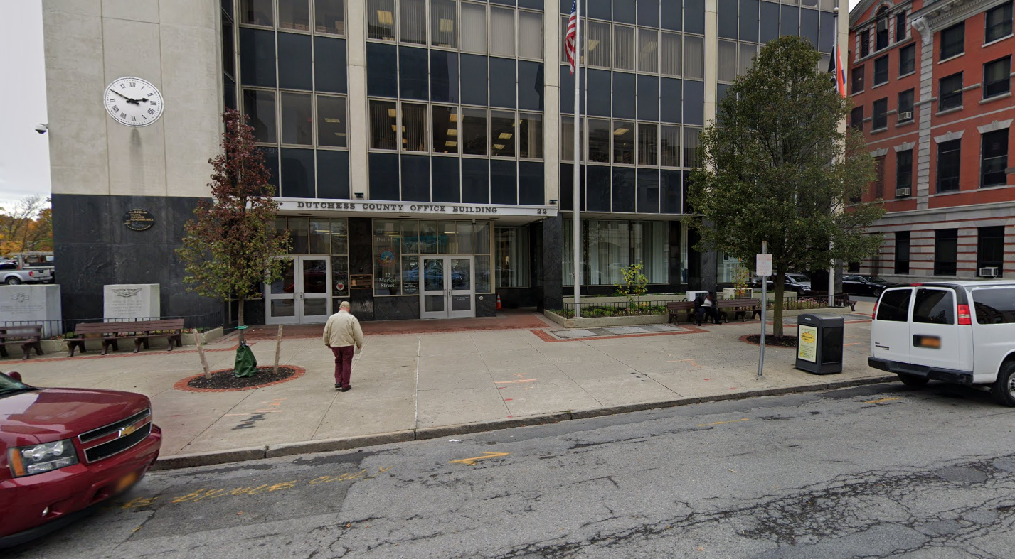 Dutchess County Office Building, 22 Market St, Poughkeepsie / Photo from Google Maps