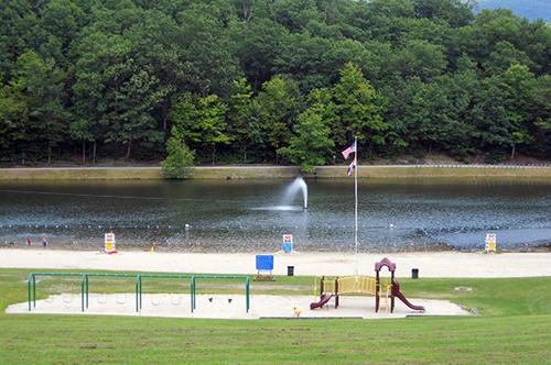 Wilcox Park Swimming Area