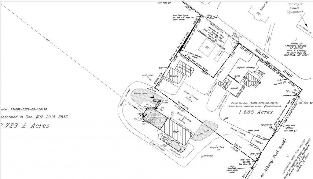 Red Hook helipad site plan