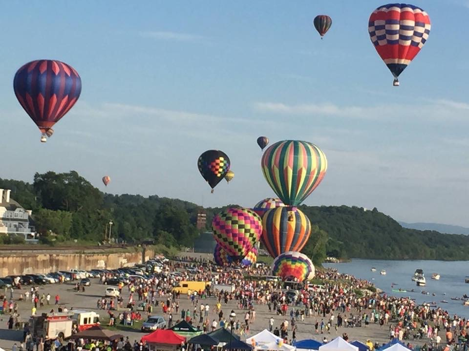 Balloon Festival in City of Poughkeepsie